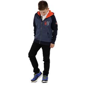Regatta Tetra Hoodie Jacket Kids Dark Denim Marl/Navy